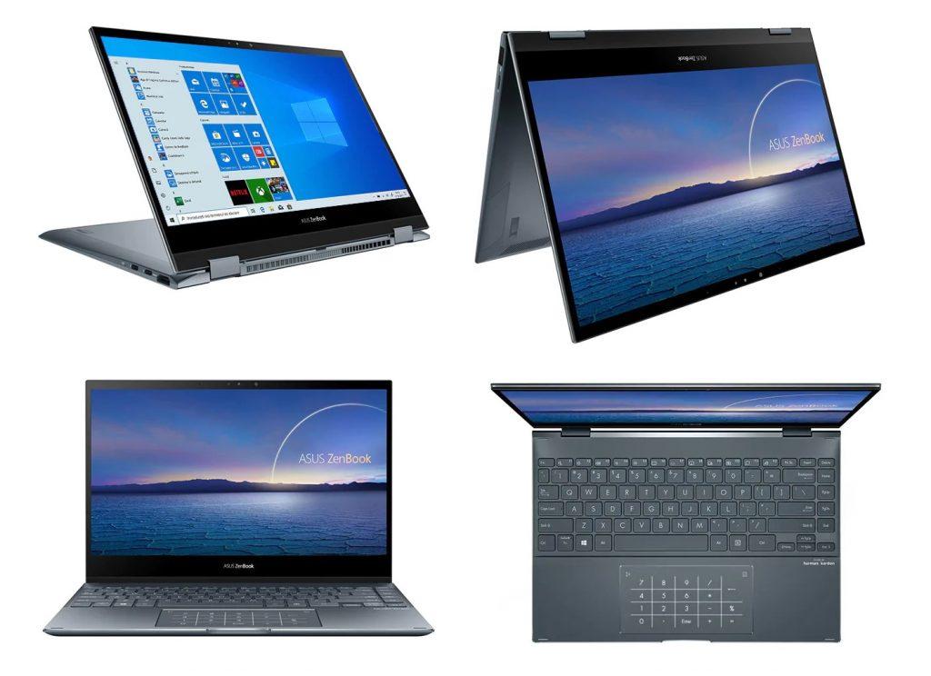 Laptop 2 in 1 ASUS ZenBook Flip 13
