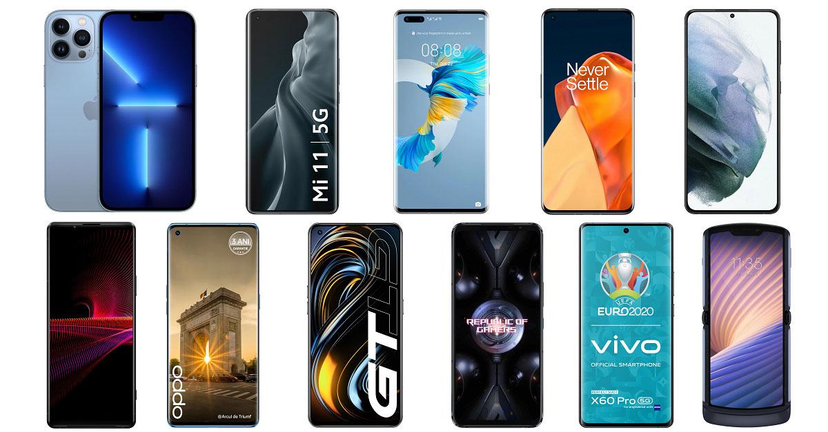 TOP 11 cele mai bune telefoane mobile